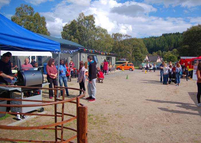 Photo of gathering at Strathglass Gala
